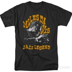 miles davis jazz legend new 2xl OFFICIAL tee
